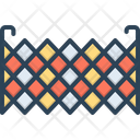 Fence Barricade Barbed Wire Icon