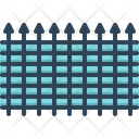 Fence Enclosure Parapet Icon