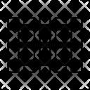 Fence Border Hedge Icon