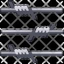 Fence Prison Wire Icon