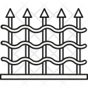 Fence Security Fence Site Fencing Icon