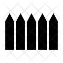 Fence Border Hedge Icon