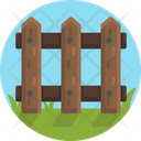 Garden Fence Barrier Icon