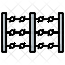 Fence Barbed Wire Barbed Icon
