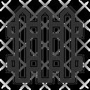 Fence Yard Picket Icon