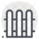 Fence Safety Construction Icon