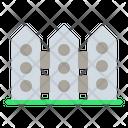 Fence Spring Season Icon