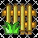 Fence Garden Grass Icon