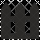 Border Home Fence Icon