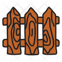Fence Safety Security Icon