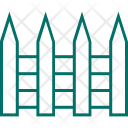 Fence Picket Protection Icon