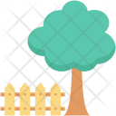 Fence Garden Lawn Icon