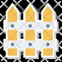 Fence Garden Yard Icon