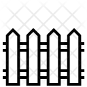 Fence Construction Project Icon