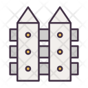 Fence Garden Railing Icon