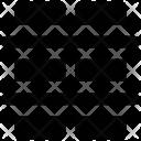 Fence Palisade Boundary Icon