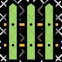 Fence Ecology Eco Icon