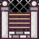 Fence Gate Yard Icon