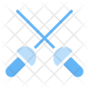 Fencing Fight Play Icon