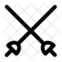 Fencing Olympics Sword Icon