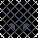 Fencing Game Sword Icon
