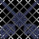 Sports Sword Fencing Icon