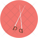 Fencing Weapon Game Icon
