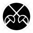 Fencing Game Sport Icon