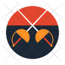 Fencing Sport Game Icon