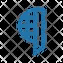 Fencing Helmet Icon