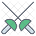 Fencing Sabers Icon