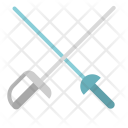 Fencing Swords Saber Icon