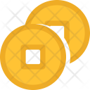 Feng Shui Coins Icon