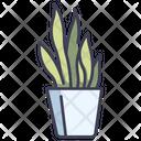 Fern Plants Pot Icon
