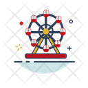 Merry Go Round Ferris Wheel Ferris Icon