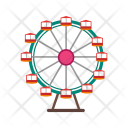 Ferris Wheel Amusement Icon