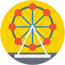 Ferris Wheel Carnival Icon