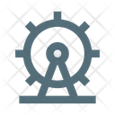 Ferris Wheel Attraction B Icon