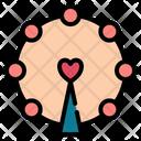 Ferris Wheel Love Romance Icon