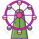 Ferris Wheel Gaint Wheel Big Wheel Icon