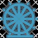Carnival Ferris Wheel Amusement Park Icon