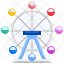 Ferris Wheel Everland Amusement Park Icon