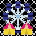 Ferris Wheel Amusement Park Park Icon