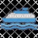 Ferry Boat Ship Icon