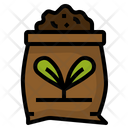 Fertilizer Soil Plant Icon