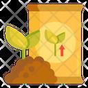 Fertilizer Seeds Bag Icon