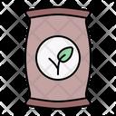 Fertilizer Seed Bag Icon