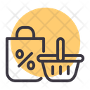 Sale Cart Discount Icon