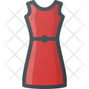 Festive Dress Woman Icon