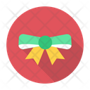 Bow Christmas Festive Icon
